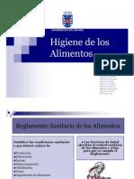 Higiene de Los Alimentos - Natalia Contreras