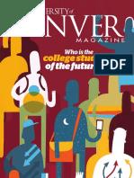 University of Denver Magazine Winter 2016