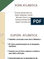 Turismo en Europa Atlántica
