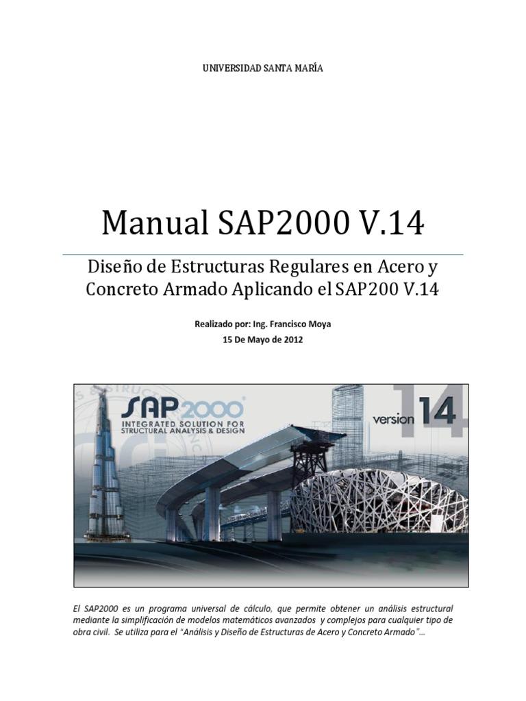 Manual Sap 2000 V 14