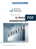 El Proceso de Administración