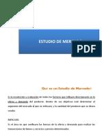 3.- Estudio de Mercado