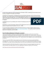 Selpa - Cde Special Ed Website Posting Mandate