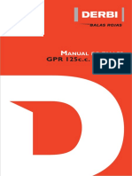 Manual Propietarios Derbi125GPR