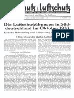 Gasschutz Und Luftschutz 1933 Nr.12 Dezember