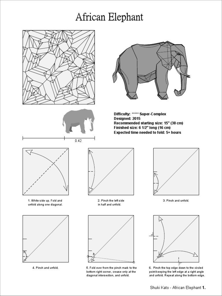 origami elephant diagram residential electrical symbols u2022 rh bookmyad co origami elephant instructions pdf origami elephant diagram complex