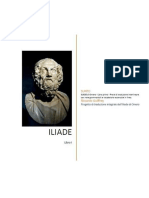 ILIADE di Omero - Libro primo - Prove di traduzione interlineare con note grammaticali e vocabolario essenziale in linea