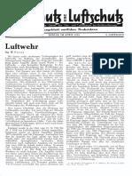 Gasschutz Und Luftschutz 1934 Nr.4 April