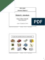 01 - Introdução - Sistemas Digitais I - 2013