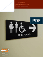 Urinary Dysfunction and Ms