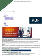 Diplomado en Planificación, Organización y Gerencia Gestión de Procesos