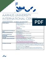 Aarhus University, Opd. August 2015