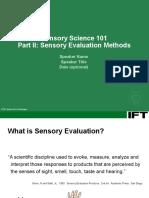 IFTSensorySciencePartII(1).ppt