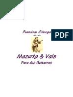 Tarrega Francisco Mazurka Vals