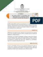 Planeación y Control de Proyectos Con MS Project Oct 06