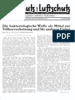 Gasschutz Und Luftschutz 1934 Nr.9 September