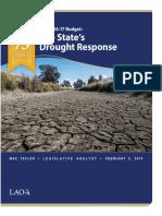 Drought Response 020516
