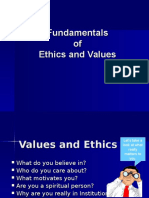 Ethics Moral Values