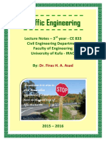 Lec 00 Traffic Engineering - Opening and Syllabus