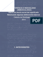 Clase Referencia e Indexicalidad 2014