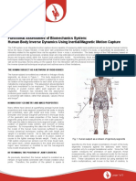Functional Assessment of Biomechanics System- Human Body Inverse Dynamics Using Inertial Motion Capture