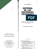 03. Historia de Las Doctrinas Cristianas Louis Berkhof