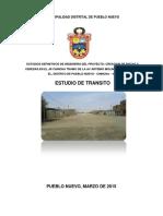 Estudio Transito Pueblo Nuevo