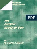 The Church House of God Fr. Tadros Malaty