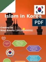 Islam in Korea by Rizqi Amelia