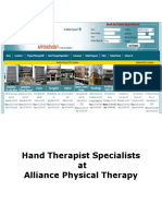 Certified Hand Therapist | CHT | Physical Therapy