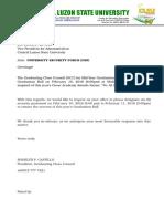 CLSU GCC Letter Sample