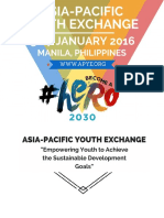 Asia-Pacific Youth Exchange Program 2016