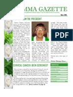 Gamma Gazette, Winter 2009 issue