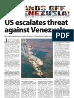Hands Off Venezuela newsletter January 2010
