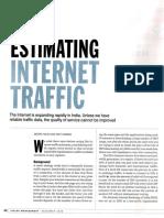 Internet Traffic Estimation