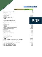 Costing for Basanti Enterprises