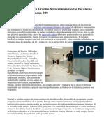Brillado De Pisos En Granito Mantenimiento De Escaleras República Dominicana 809