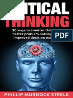 Critical Thinking 30 Ways to Sm - Steele, Phillip Murdock