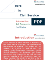 Careers in Civil Service