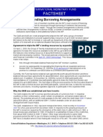 IMF Standing Borrowing Arrangements -- March 2010