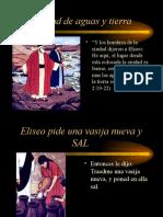 Mensaje Eliseo Sana Las Aguas Con Sal