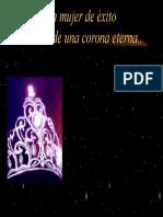 Tras de Una Corona Especial Original