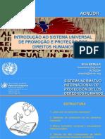 Introduccion Sistema Universal de Derechos Humanos