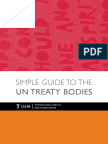 ISHR Simple Guide to the UN Treaty Bodies