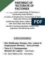 Inspectorate of Factories