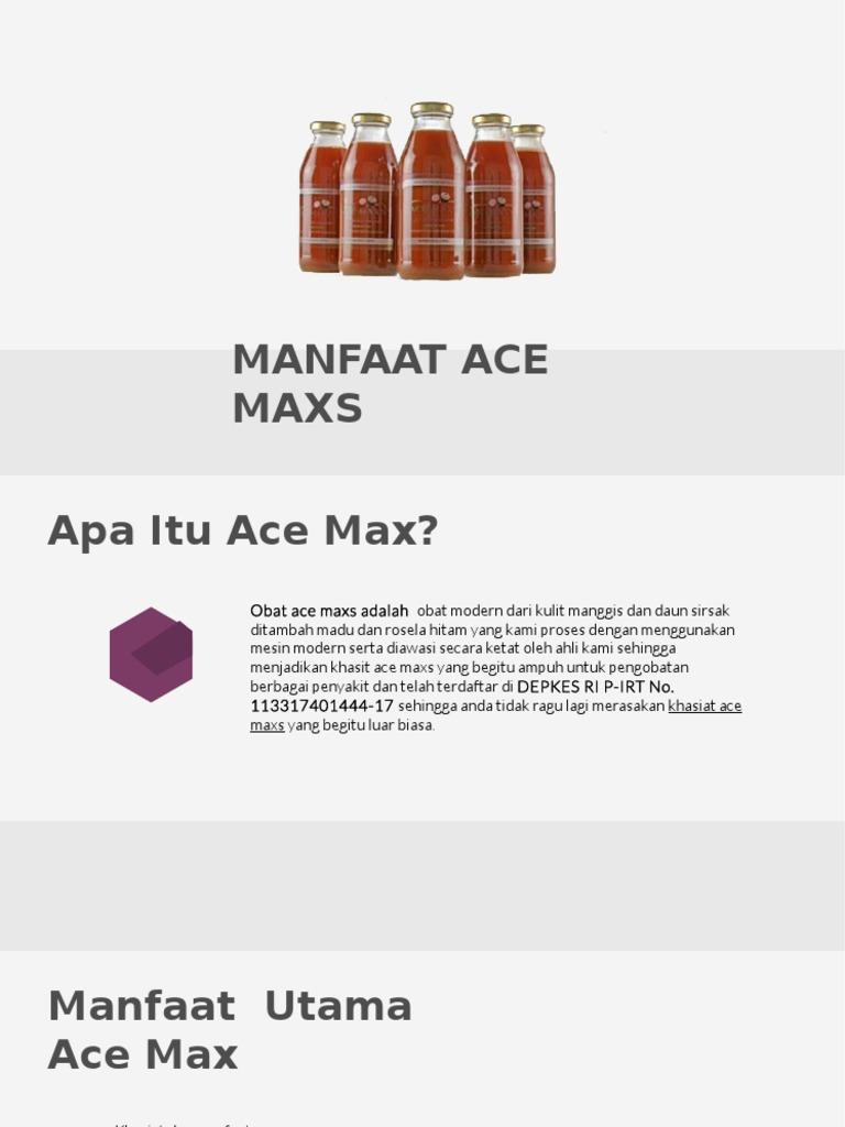 Jual Ace Max Toko Istana Herbal Acemax Original Acemaxs