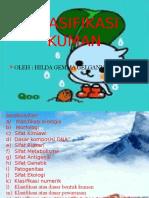 Klasifikasi Kuman