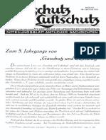 Gasschutz Und Luftschutz 1935 Nr.1 Januar
