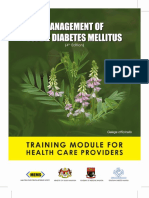Diabetes CPG Training Module