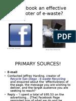 Presentation e Waste